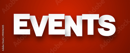 Paper events sign. #90046305