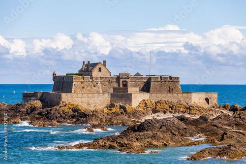 Fort National in Saint Malo Fototapeta