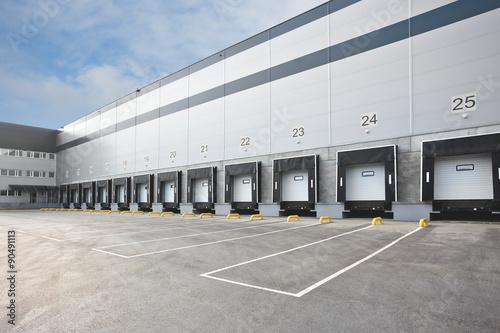 Big distribution warehouse Fototapet