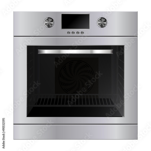 Fotografie, Tablou Electric oven.