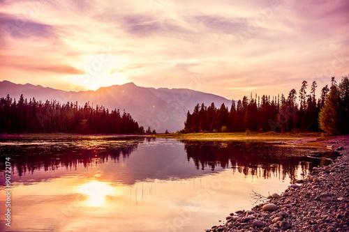 Fotografia Mountain Sunset