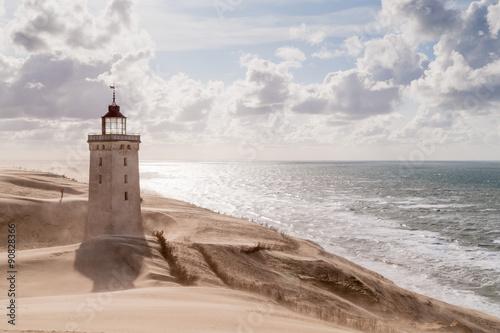 Wallpaper Mural Sandstorm at the lighthouse