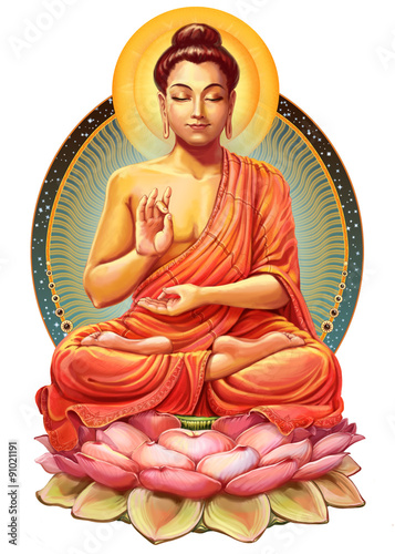 Fotografija Buddha in meditation