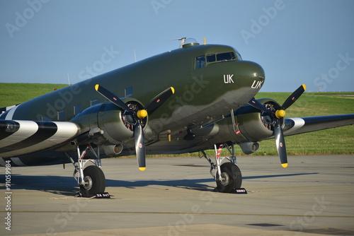 Obraz na plátně Douglas Dakota DC3, U