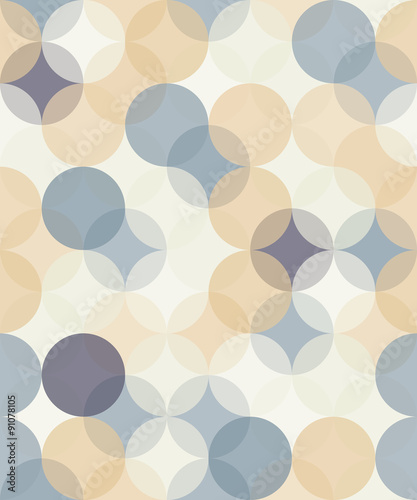 Vector modern seamless colorful geometry pattern circles  , color abstract geometric background,wallpaper print,  retro texture, hipster fashion design,