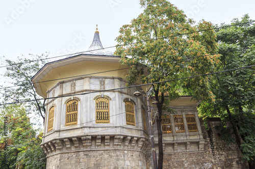The Procession Kiosk is a 16th-century historical building on th