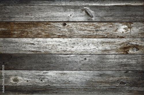 Obraz na plátně dark rustic barn wood background