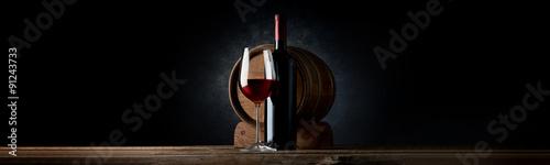 Fotografia, Obraz Composition with wine