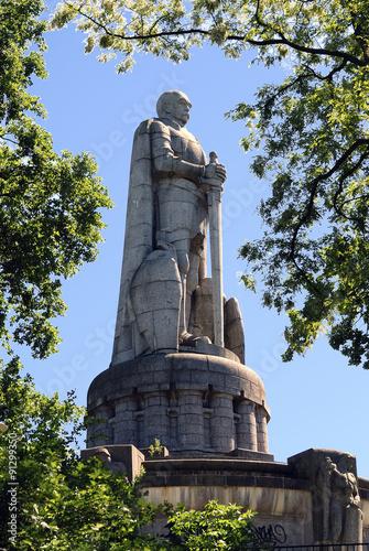 Bismarck-Denkmal, Hamburg Fototapeta