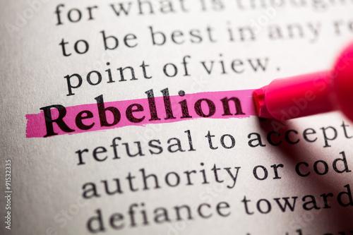 Fotografie, Obraz rebellion