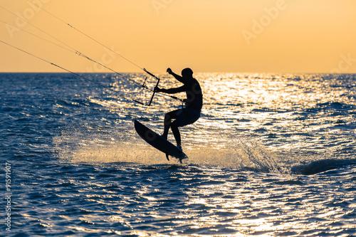 kitesurfer #91591907