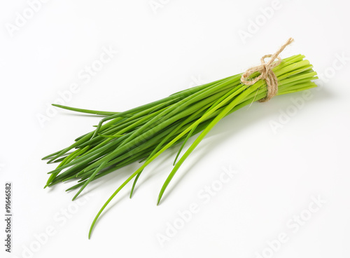 Bunch of fresh chives