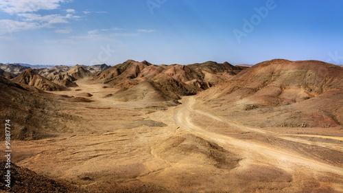 Egyptian rock desert #91887774