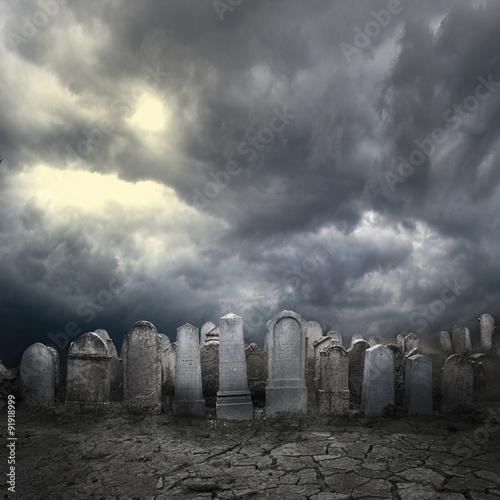 Graveyard Fototapeta