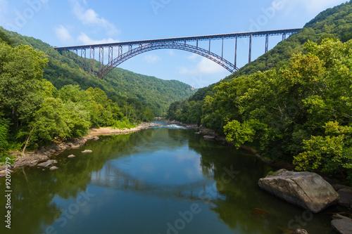 Fotografia New River Gorge Bridge