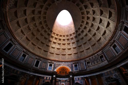 Vászonkép The Pantheon, Rome, Italy