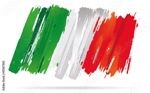 Obraz na płótnie drapeau italien
