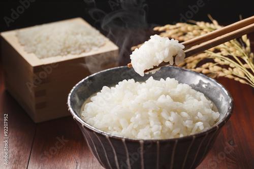 白米のご飯 Japanese rice KOME