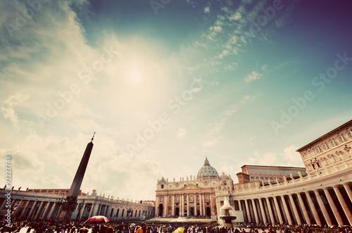 Fotomural Plaza de San Pedro en la Ciudad del Vaticano