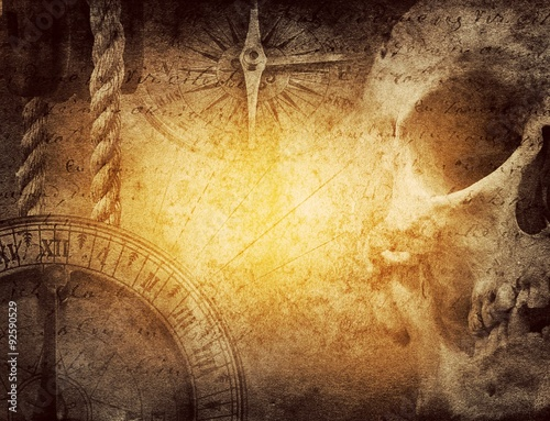 Obraz na płótnie adventure stories background