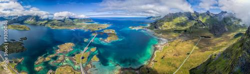 Stampa su Tela Lofoten panorama