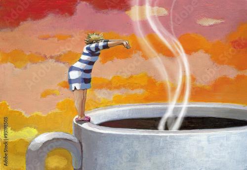 I need my morning coffee