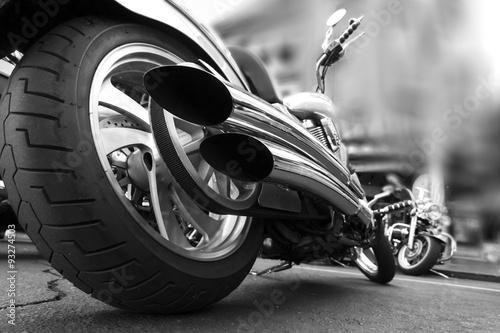 Wallpaper Mural Motorcycle