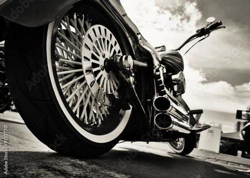 Motocykl Fototapeta