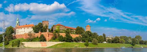 Wawel castle in Kracow #93429711
