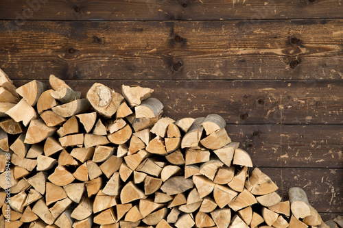 Obraz na plátne Firewood