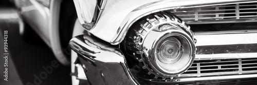 Classic car headlights #93944318
