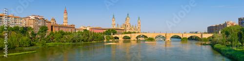 Panorama of Zaragoza