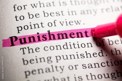 Photo punishment