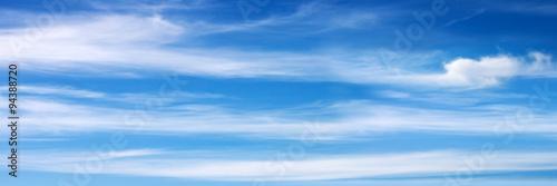 Fototapeta Panorama nieba szeroka z widokiem