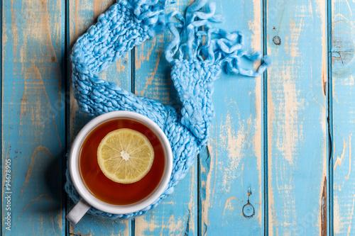 Cup of hot tea #94678905