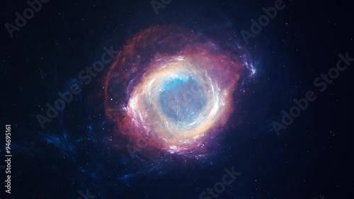 Obraz na płótnie Beautiful Nebula and Deep sky Object