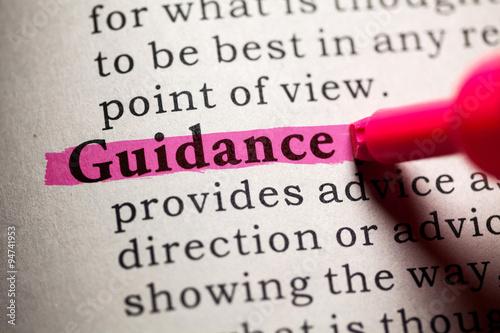 Canvas guidance