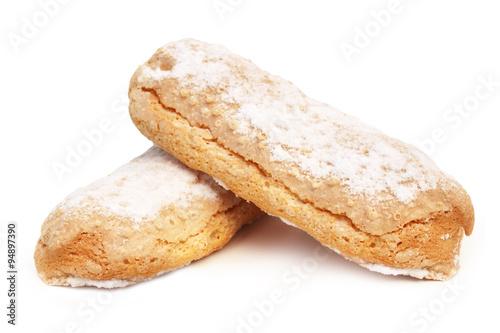 Leinwand Poster Biscuits à la cuillère