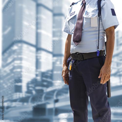 Wallpaper Mural Security guard