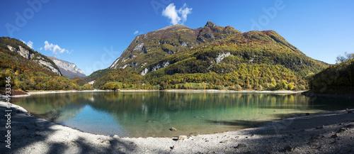 Alpine lake of Tenno in autumn #94933346
