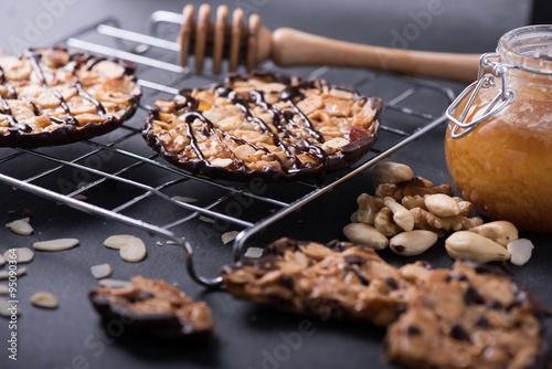 Tablou Canvas homemade Florentine,almond cookies