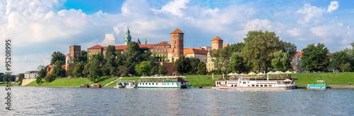 Wawel castle in Kracow #95208995