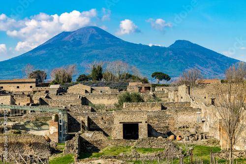 Wallpaper Mural Pompeii Ruins. Rovine di Pompei