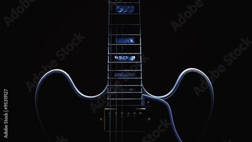 Obraz na płótnie Electric Guitar Abstract