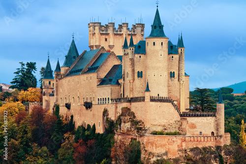 Wallpaper Mural Alcazar Castle in Segovia