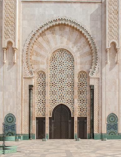 Hassan II Mosque, Casablanca. Morocco