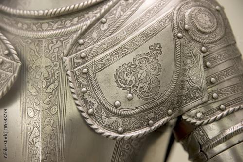 Fotografia, Obraz Medieval armor