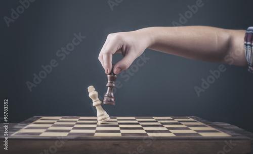 Canvastavla Chess