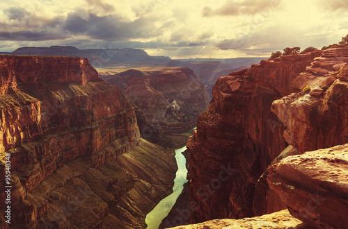 Obraz na plátne Grand canyon
