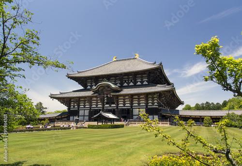 Todai-ji Temple in Nara, Japan #95984301